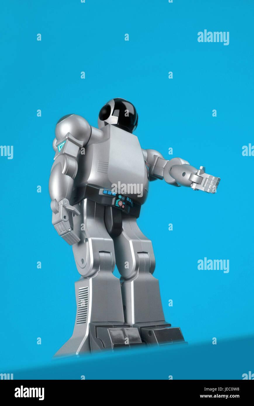 Bot passes the hand, - Stock Image