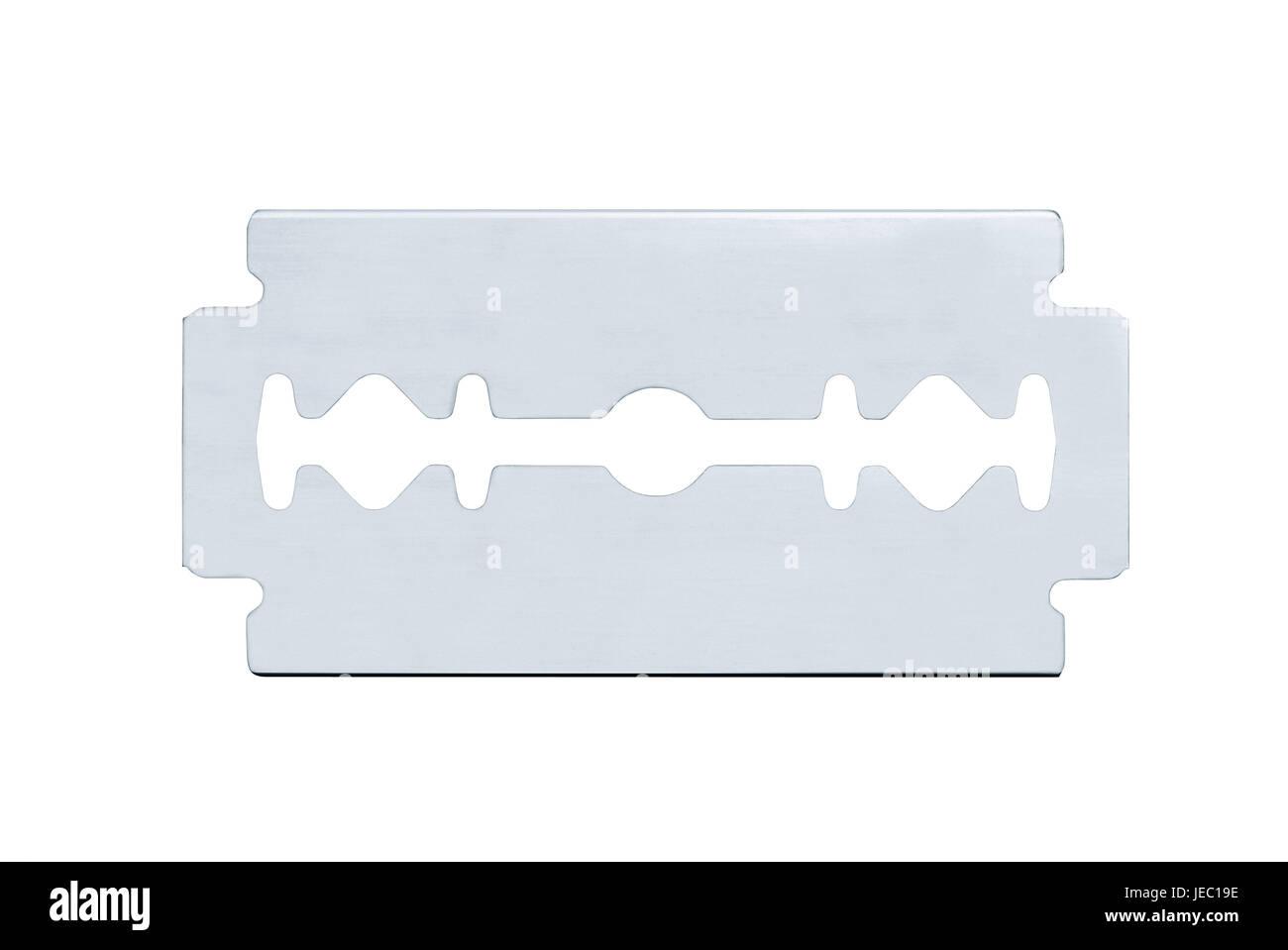 Razor blade, - Stock Image