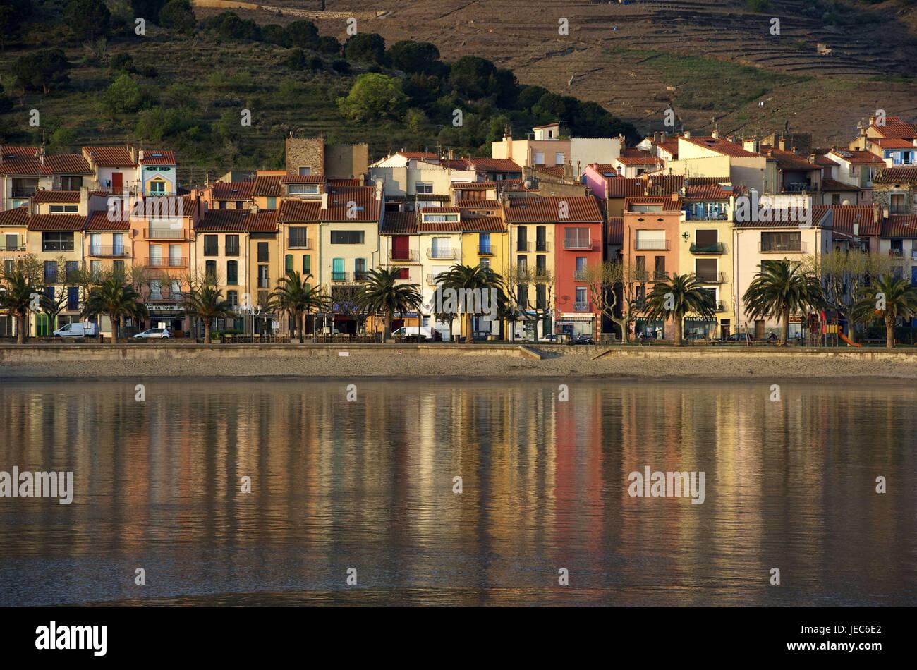 Europe, France, Collioure, Europe, France, Languedoc-Roussillon, Collioure, Département of Pyrénées - Stock Image