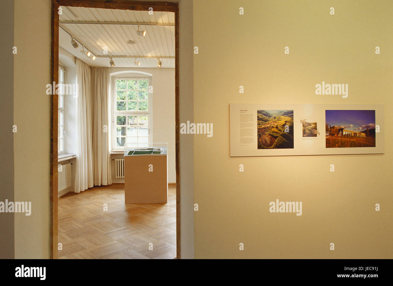Germany, North Rhine-Westphalia, Bielefeld, museum Waldhof, exhibit, Teutoburger wood, place of interest, building, - Stock Image