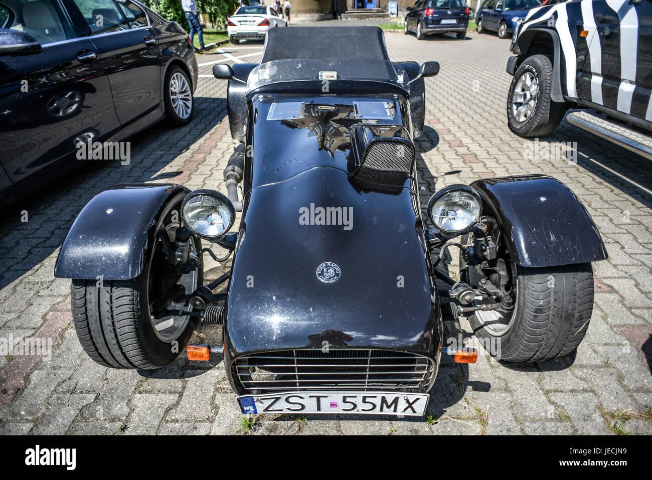 Szczecin, Poland, June 18, 2017: Lotus car, old time racing sport ...
