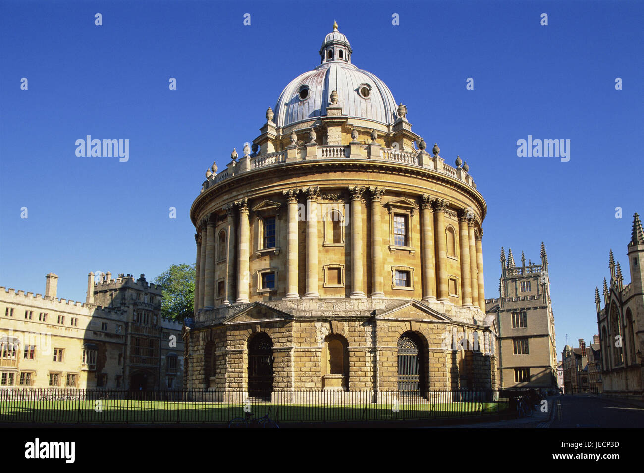 great britain england oxfordshire oxford radcliffe camera stock