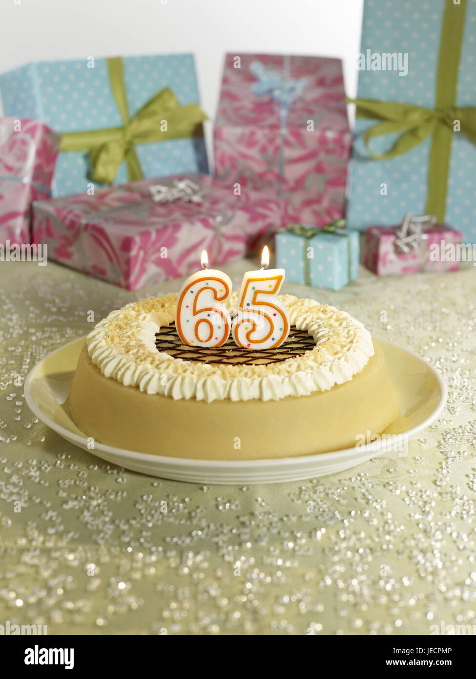 Birthday Cake Skyers 65 Presents Cakes Cream Gateau Number Burn Celebrate Surprise