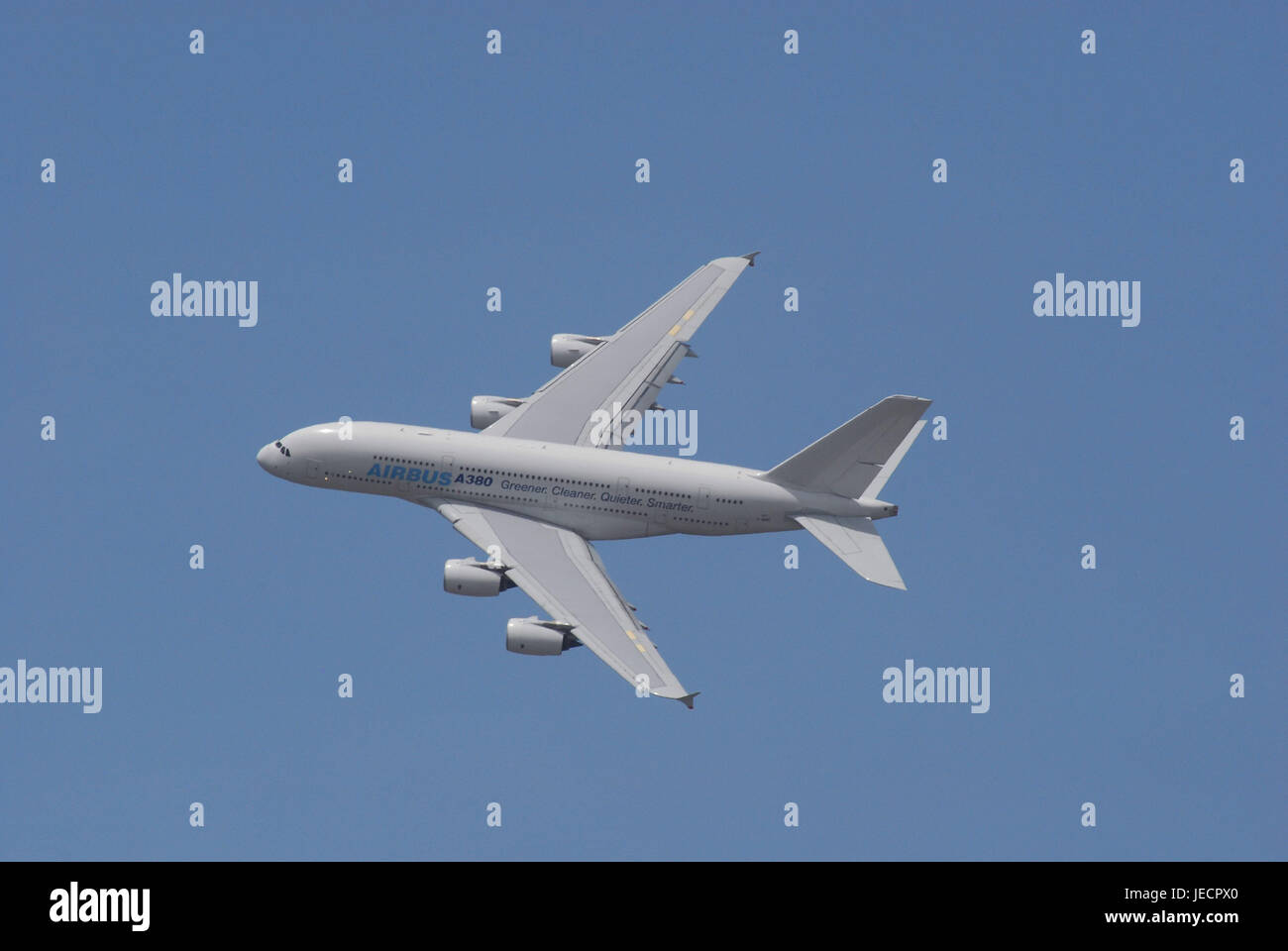 Germany, Berlin, Berlin ILA, air liner, airbus A380, flight, no property release, aviation mass, civil aviation, - Stock Image
