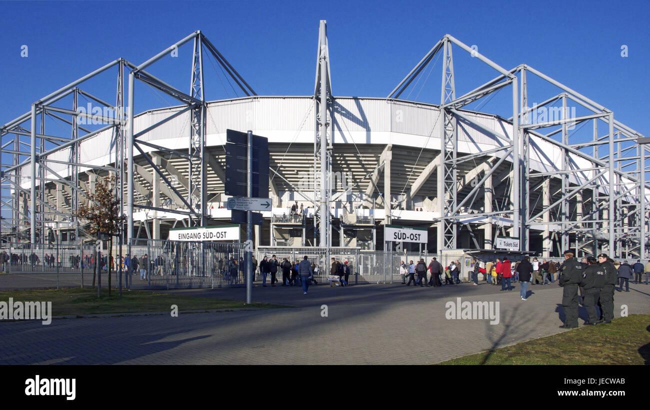 Germany, North Rhine-Westphalia, brook Mönchenglad, Borussia park, stadium, visitor, - Stock Image