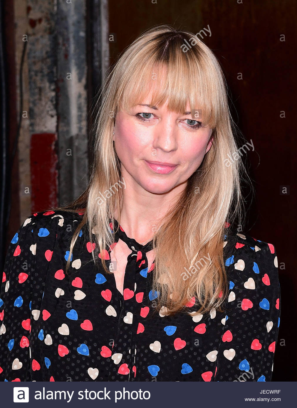 File photo dated 07/02/17 of Sara Cox who is hosting the new dating show on BBC2, Love In The Countryside which - Stock Image