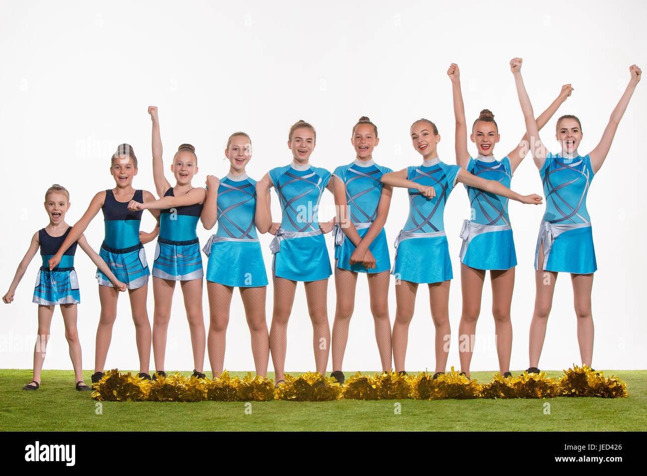 Will change Teen cheer girl group pics