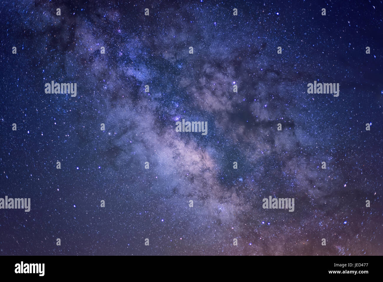 Detail of the Milky Way - Stock Image