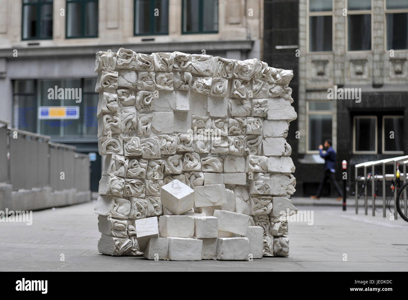 London, UK.  24 June 2017. 'Reminiscence', 2017, by Fernando Casasempere.  The artwork is on display as - Stock Image