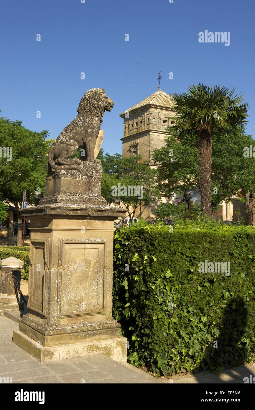 Spain, Andalusia, Ubeda, province of Jaen, Ubeda, Vazquez de Molina Platz, Stock Photo