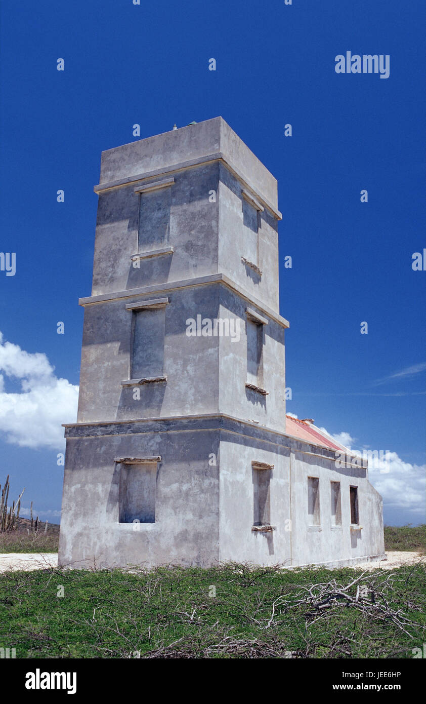 Lighthouse, the Caribbean, voucher airs, - Stock Image