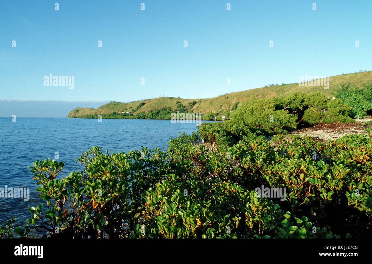 Loloata Iceland Resort, Papua New Guinea, Port Moresby, - Stock Image