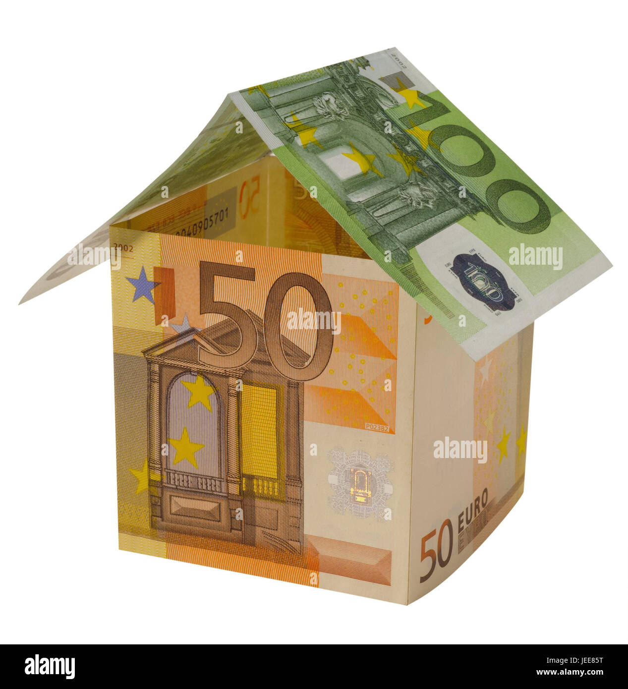 Building Of A House, Banknotes, Construction, Building Of A House,  Architecture, Build, Shell, Model House, Model, Real Estate, Architecture,  House, Icon, ...