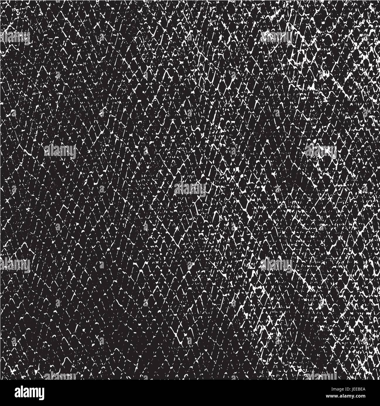 Distressed Overlay Texture Of Crocodile Or Snake Skin Leather Grunge Vector Background