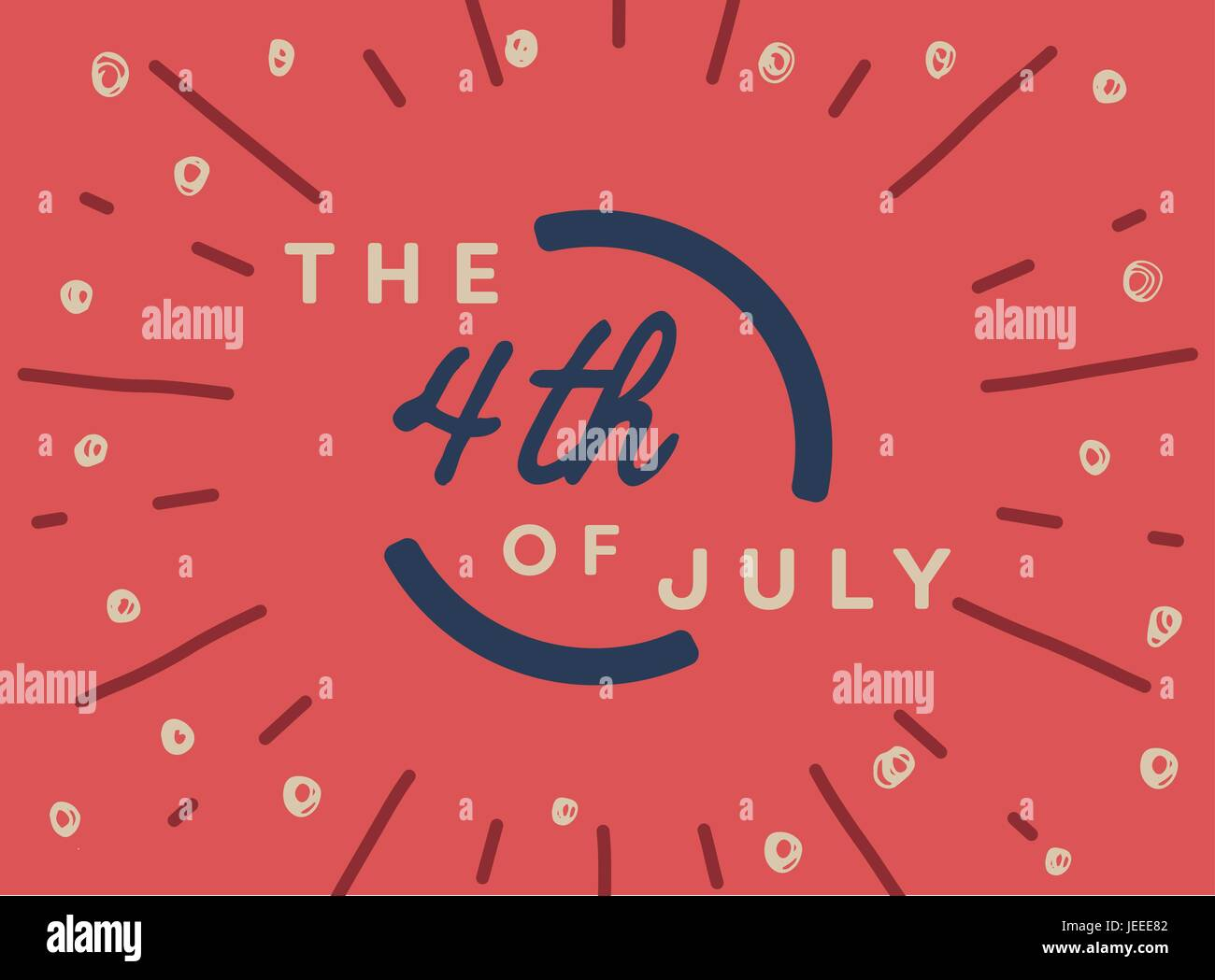 July Calendar Stock Vector Images Alamy