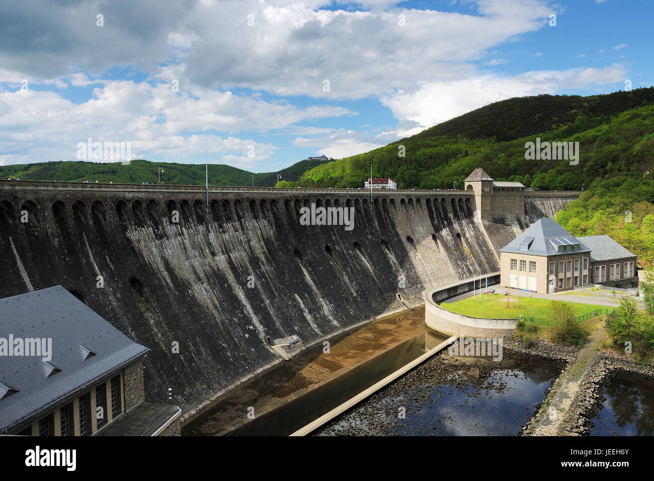Dam of the Edersee - Stock Image