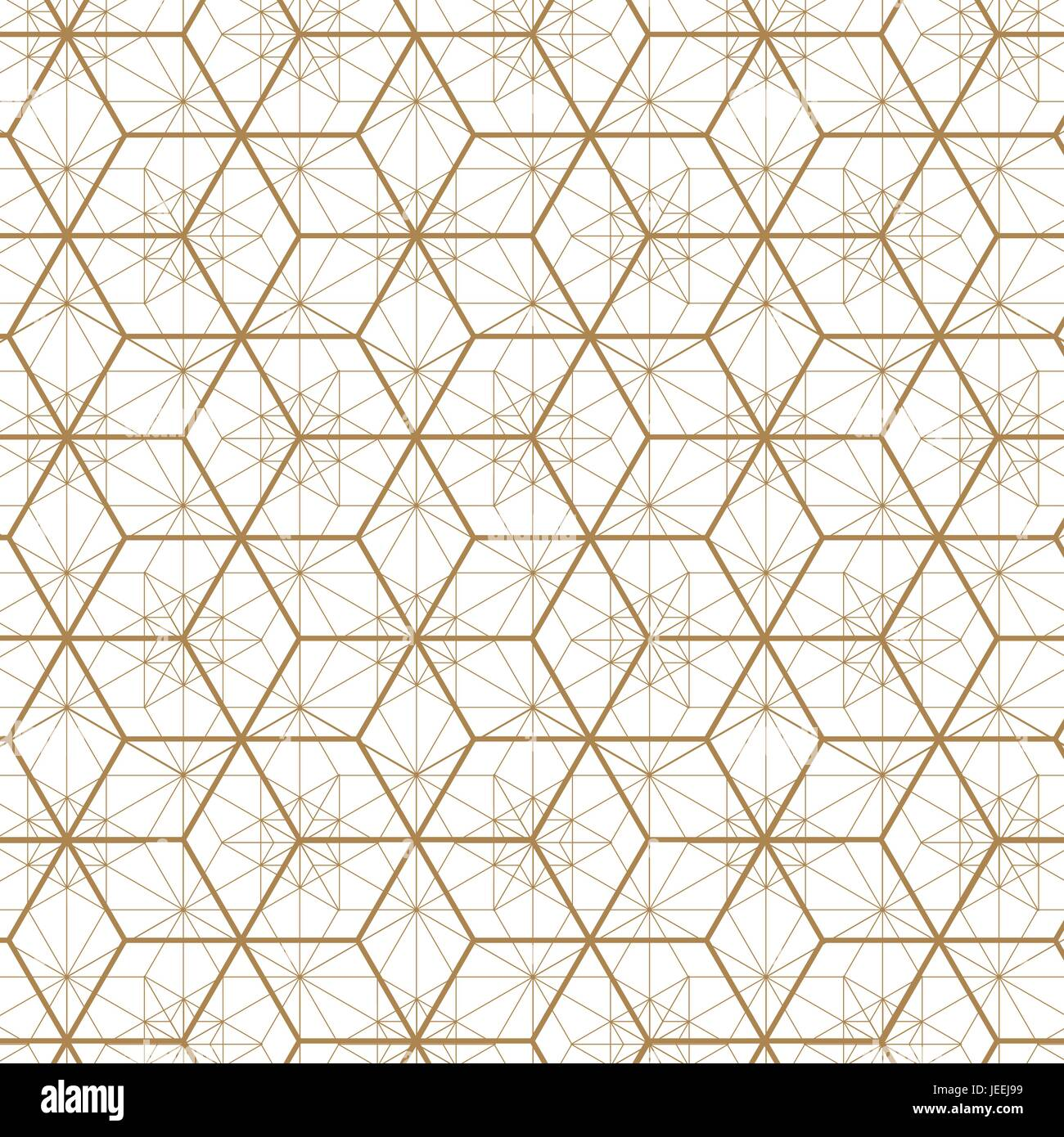 Gold Geometric Vector.