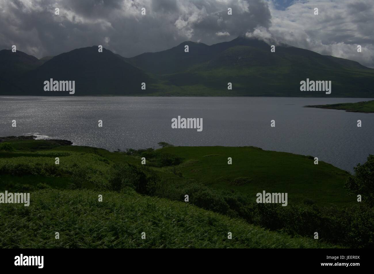 Isle of Mull mountains, Argyll and Bute, Scotland - Stock Image