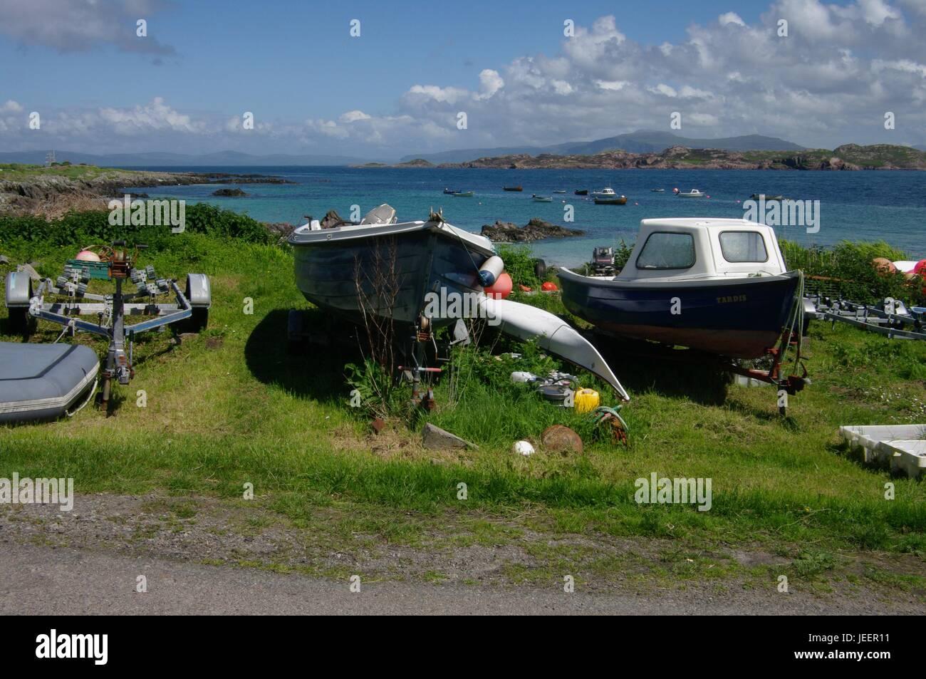 Iona, Inner Hebrides, Scotland Stock Photo