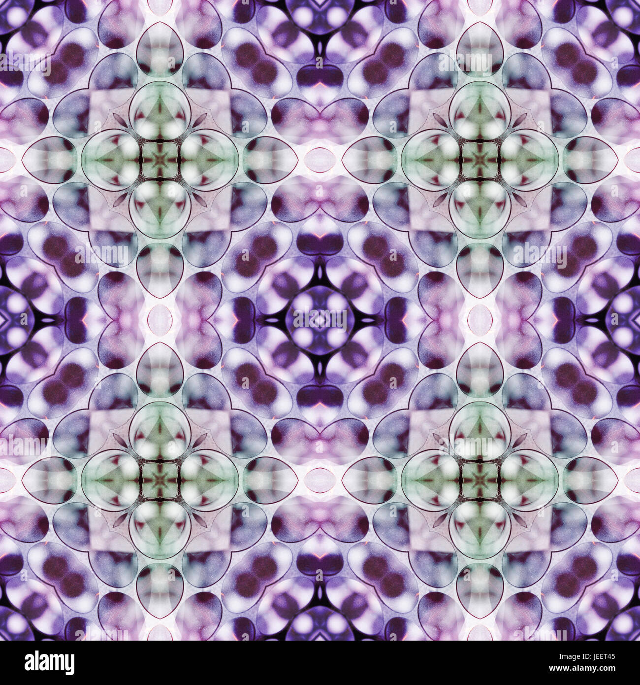 Abstract seamlessly repeating  wallpaper pattern. - Stock Image