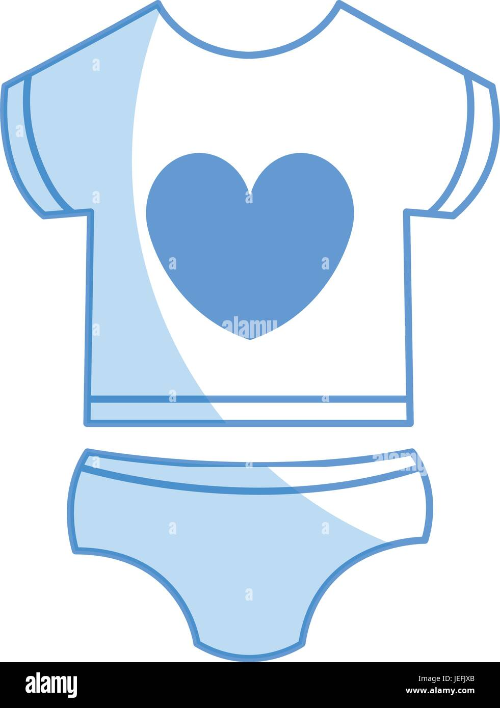 f5f81716f31 beautiful clothes babys icon vector illustration design shadow Stock ...