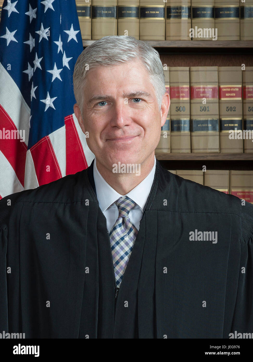 Associate Justice Neil M. Gorsuch is an Associate Justice of the Supreme Court of the United States.  Neil McGill - Stock Image