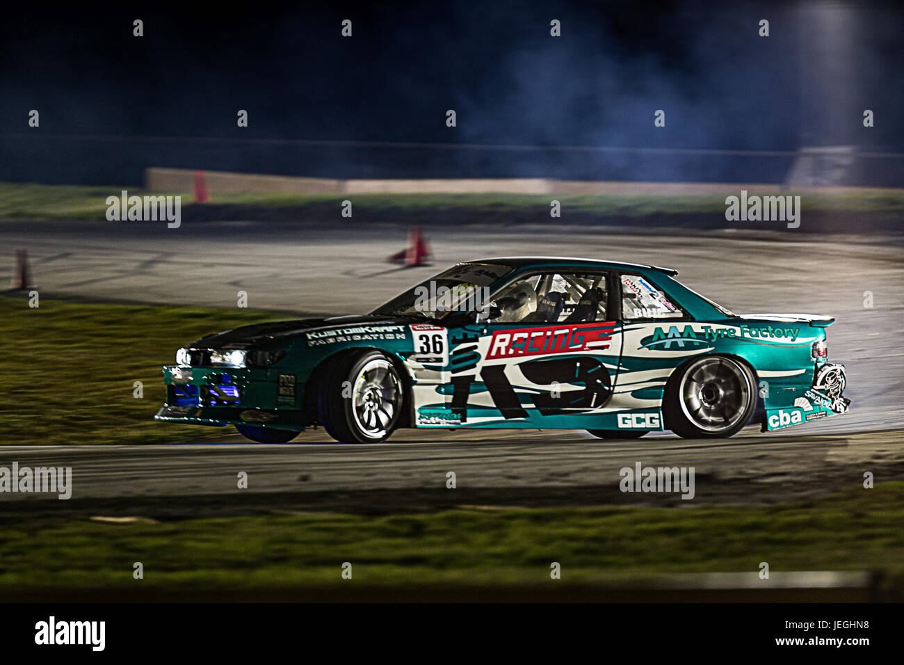 Sydney Motorsport Park, Australia. 24th June 2017.  Missed Round 1 but Anthony Bilic was back for round 2 in his - Stock Image