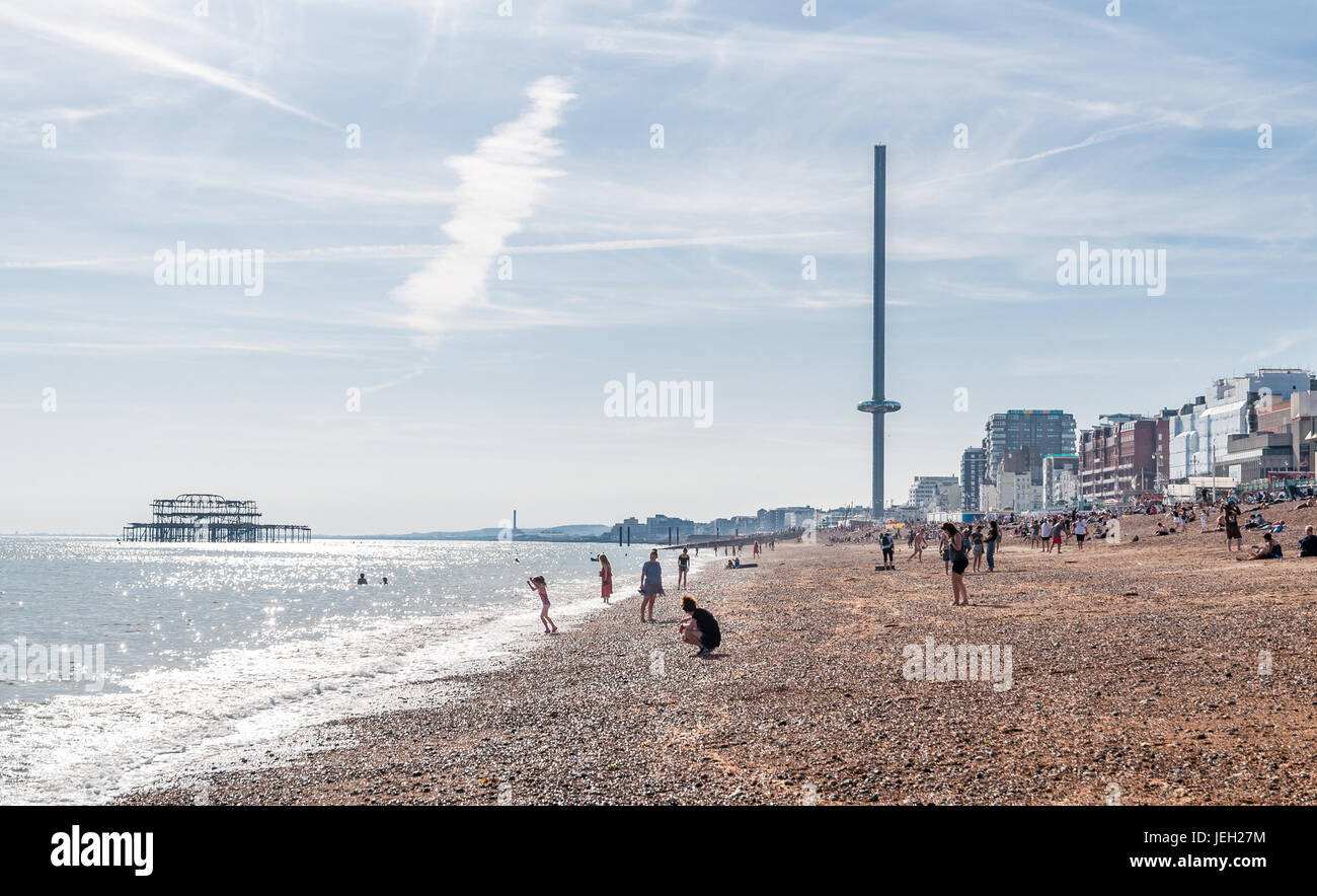 In Brighton Stock Photo