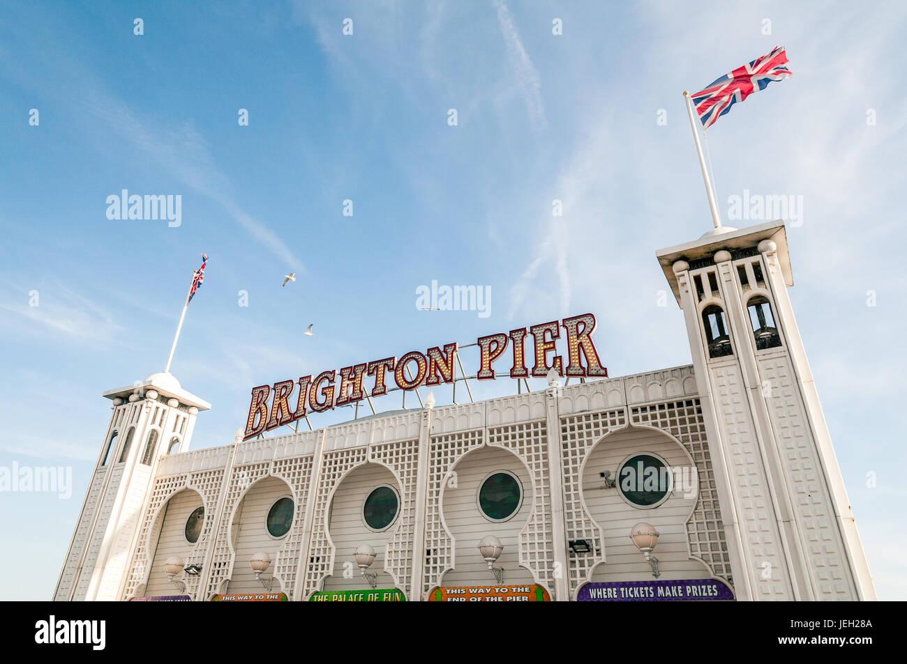 In Brighton Stock Photo