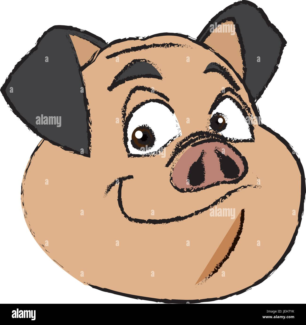 Smiling Pig Stock Photos Amp Smiling Pig Stock Images Alamy