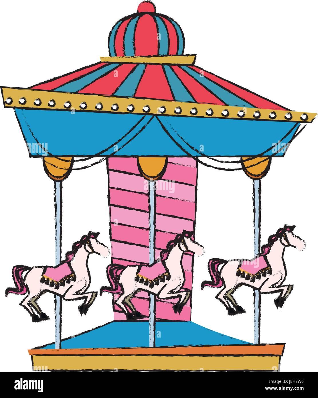 42091 - Fun Fair Rides Cartoon , Free Transparent Clipart - ClipartKey