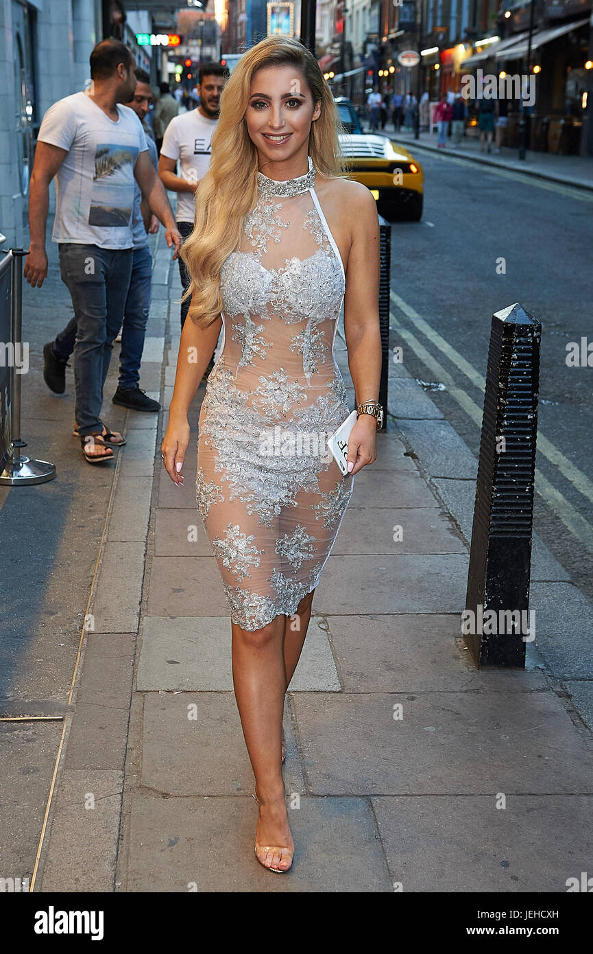 210ec0360c33d Celeb arrivals as London nightspot hosts official Miss Swimsuit UK catwalk  show and afterparty. Featuring: Paige Fitzsimmons Where: London, United  Kingdom ...