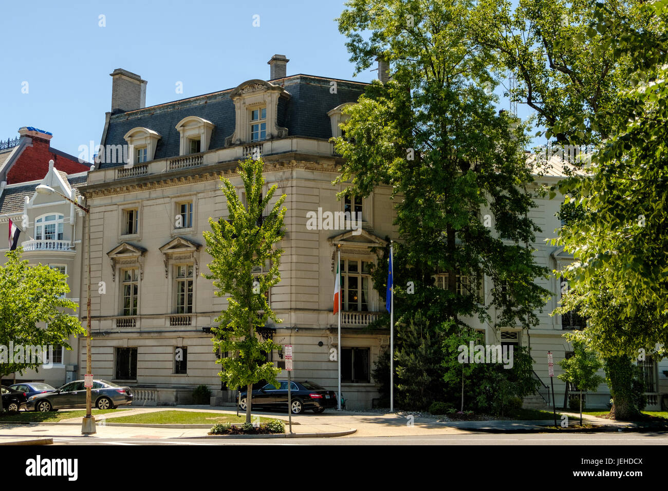 Embassy of Ireland, Henrietta M Halliday House, 2234 Massachusetts Avenue  NW, Washington DC