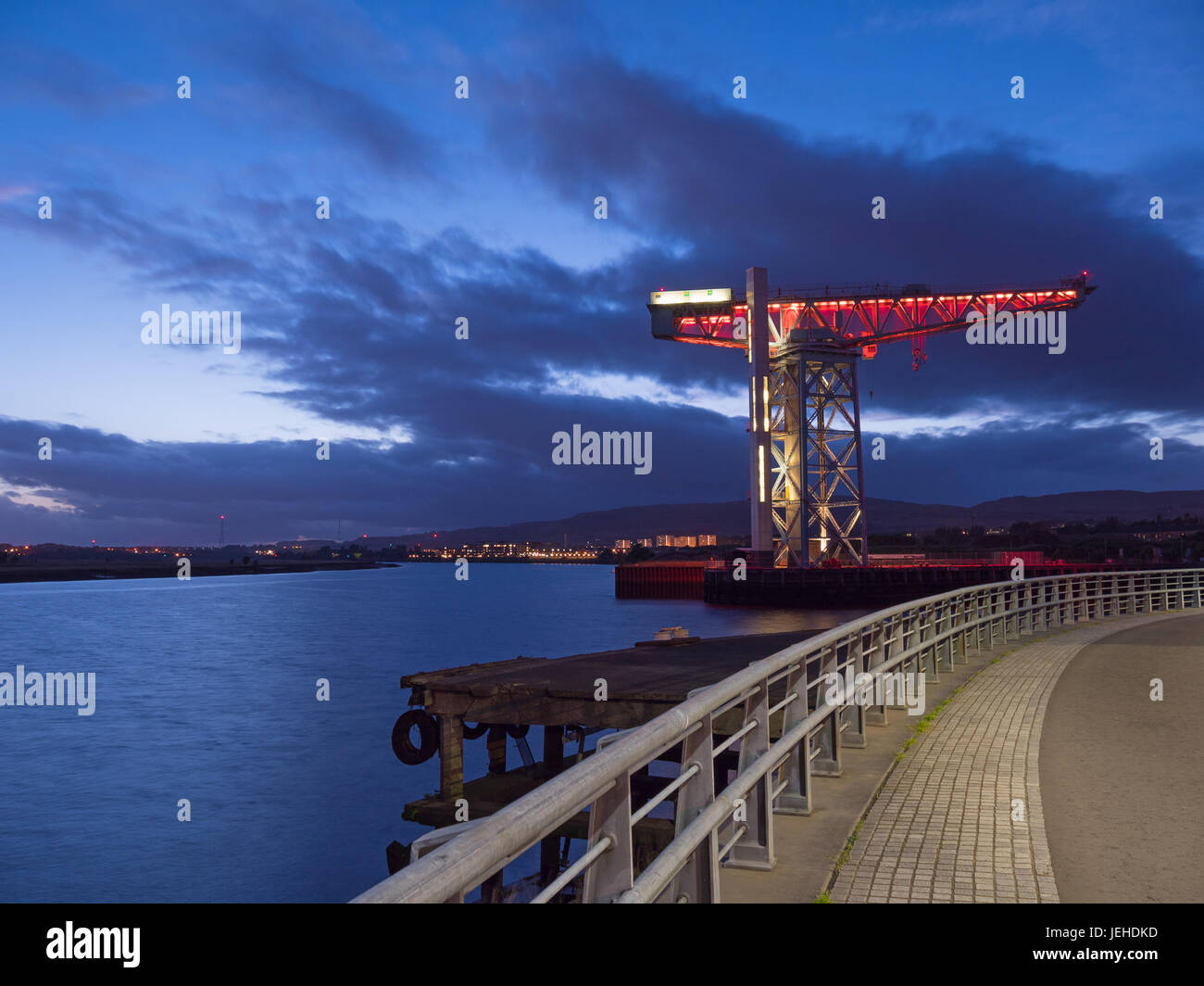 Titan crane - Clydebank - Stock Image