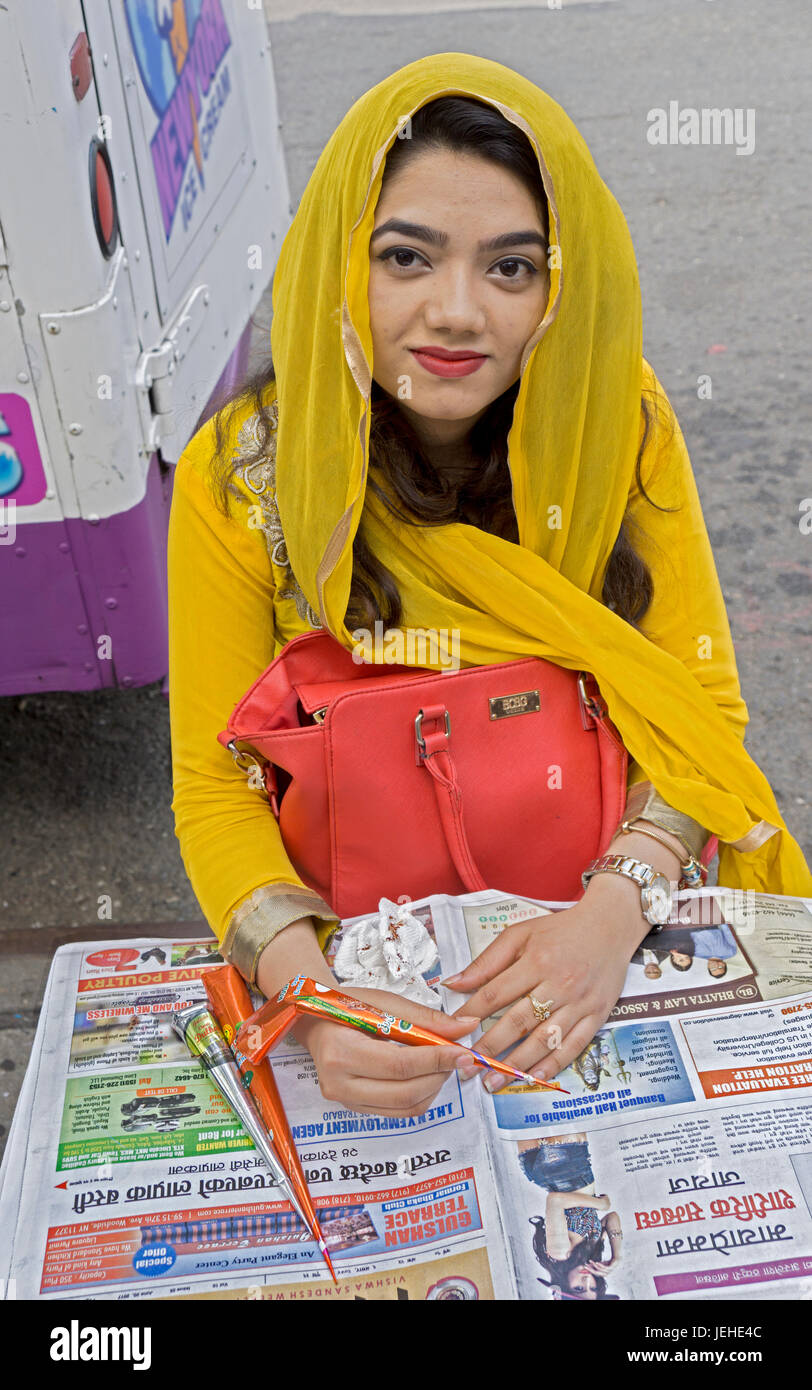 Must see Bangladeshi Eid Al-Fitr Decorations - portrait-of-a-pretty-young-lady-from-bangladesh-at-a-stand-where-she-JEHE4C  Gallery_689380 .jpg