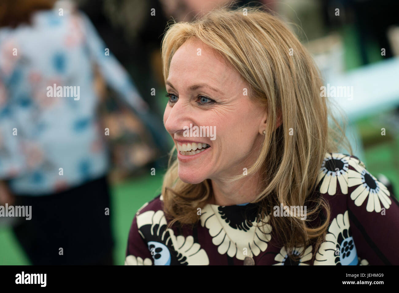 Allie Esiri, British writer and former stage, film, and television actress , editor of the anthology 'A Poem - Stock Image