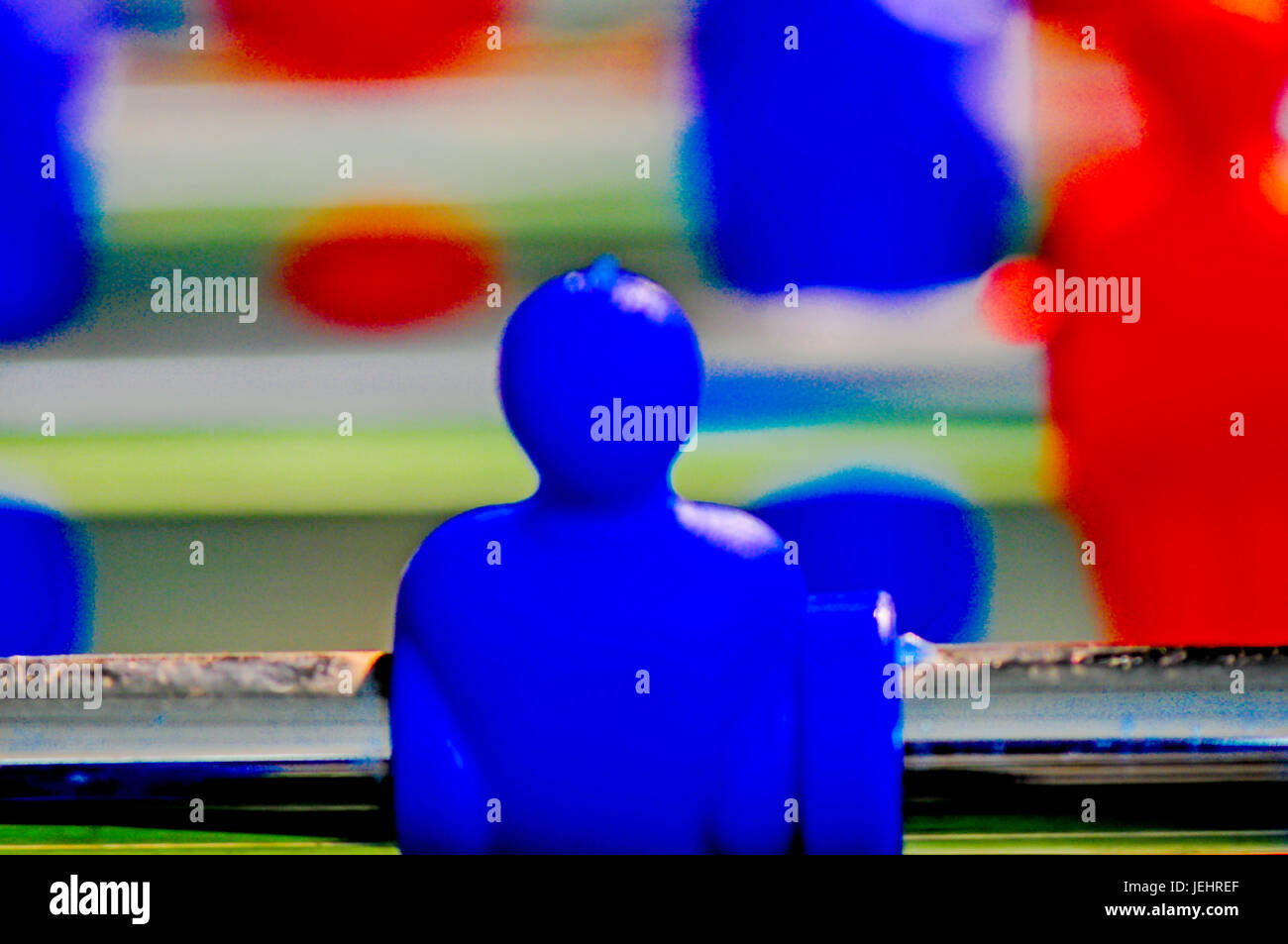 Tischfußball, table football - Stock Image