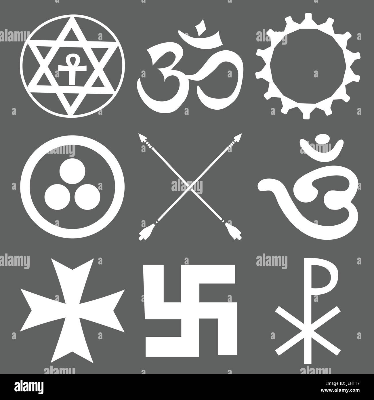Masonic Symbols Stock Vector Images Alamy