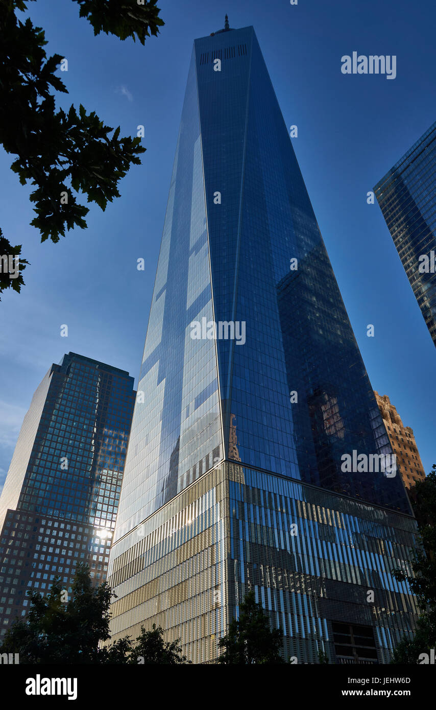 One World Trade Center, Freedom Tower, New York, USA - Stock Image