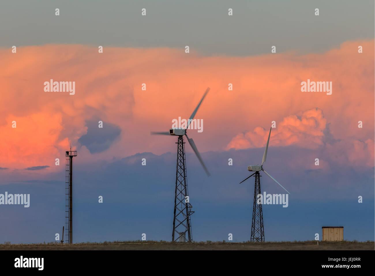 Alternative energy sources - Stock Image