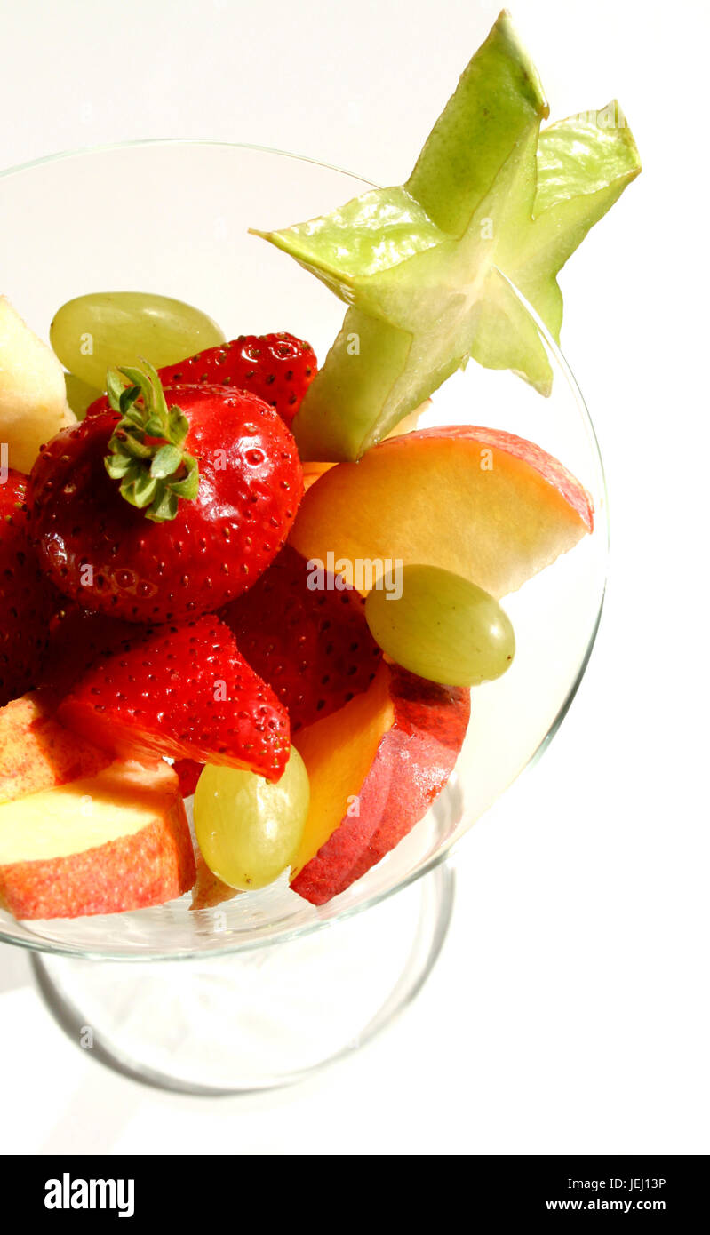 Frucht-Cocktail - Stock Image