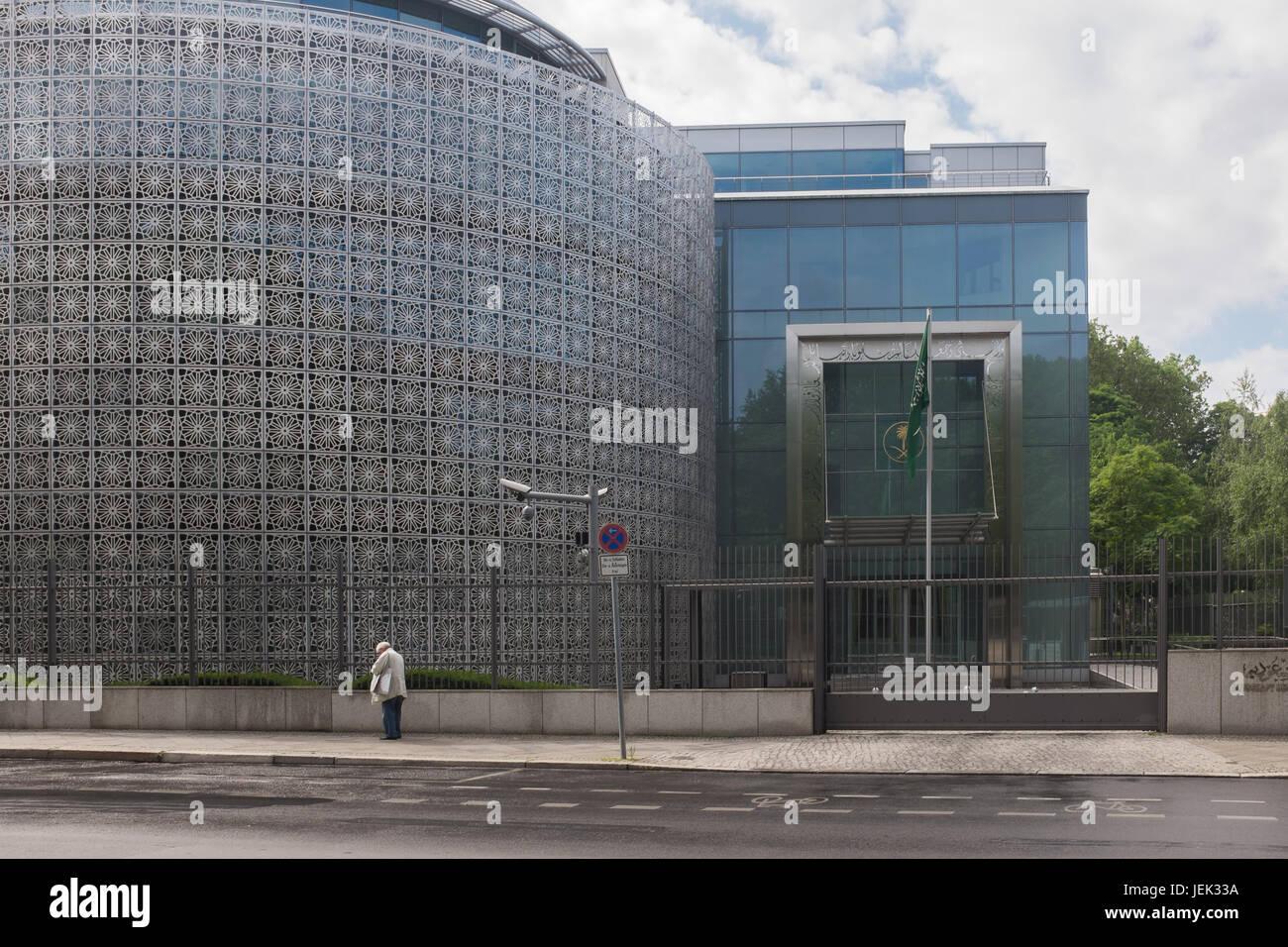BERLIN, 16TH JUNE: The Embassy of Saudi Arabia in Berlin on June 16th, 2017. - Stock Image