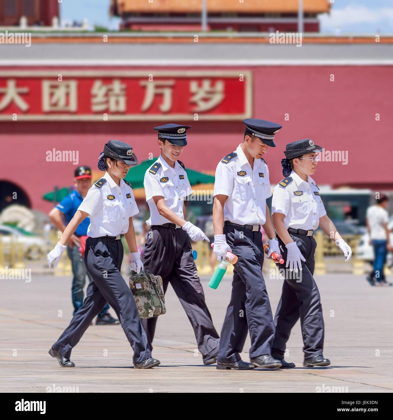China Police: Police Uniform China Stock Photos & Police Uniform China