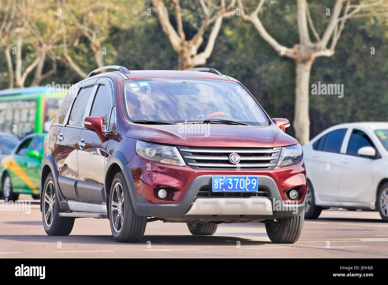 Dongfeng Joyear SUV X5. Compact SUV built by Dongfeng. As the chassis is concerned, it is derived from Renault Koleos - Stock Image