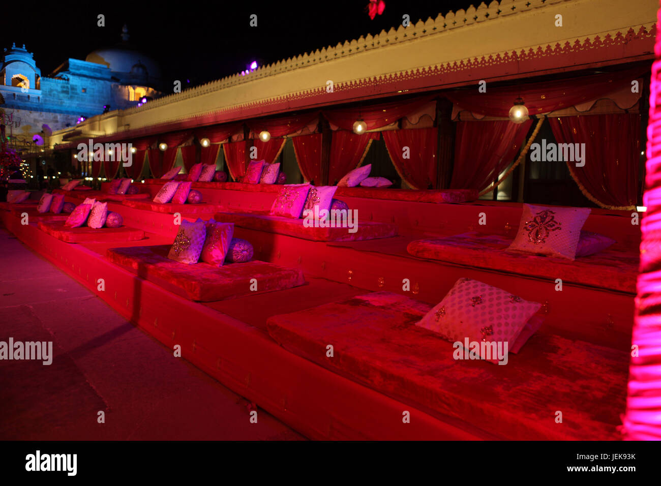 Wedding decorations amer fort jaipur rajasthan india asia stock wedding decorations amer fort jaipur rajasthan india asia junglespirit Images