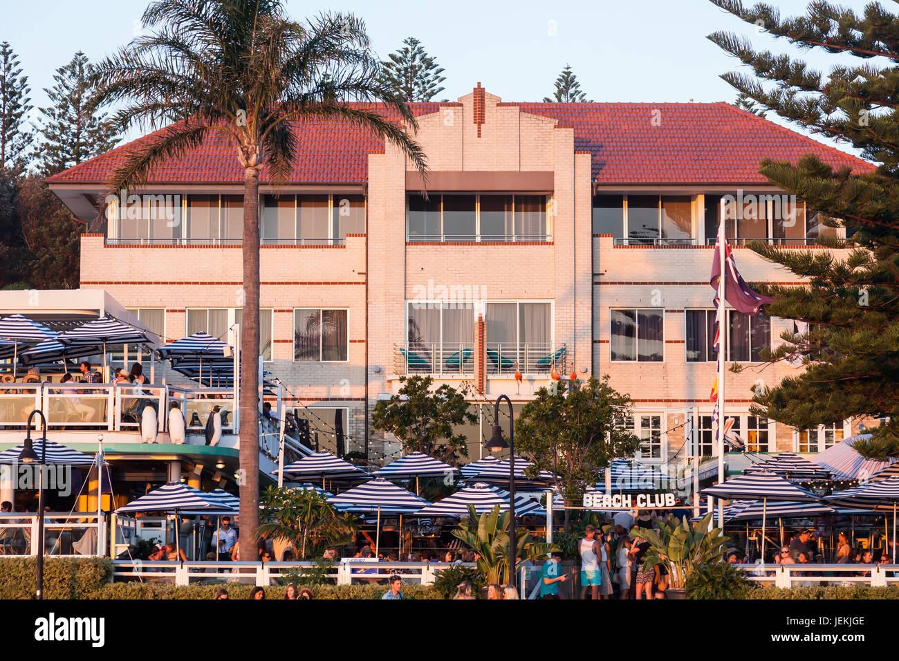 Watsons Bay Boutique Hotel, Sydney, Australia. - Stock Image