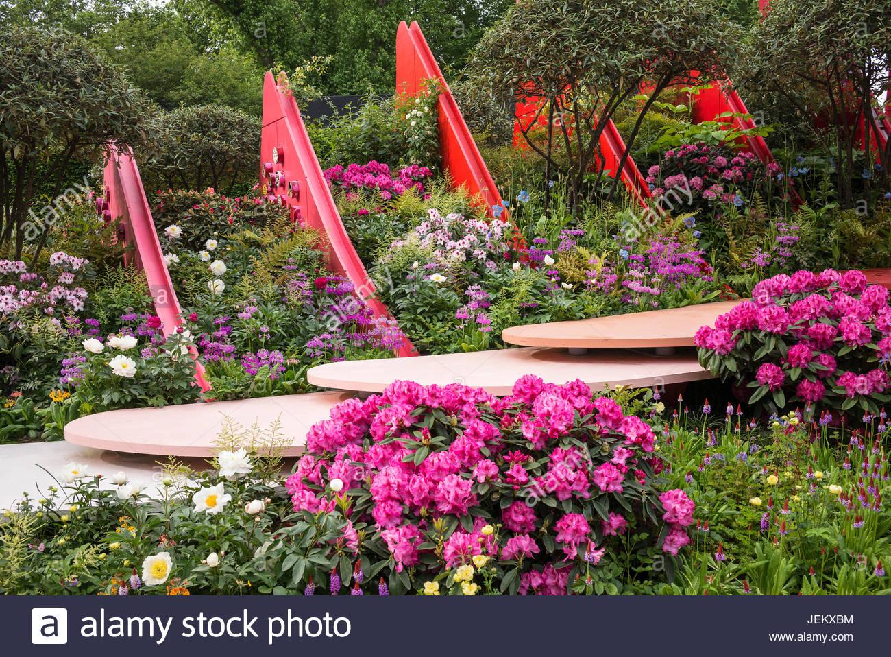 The Silk Road Garden Chengdu China garden