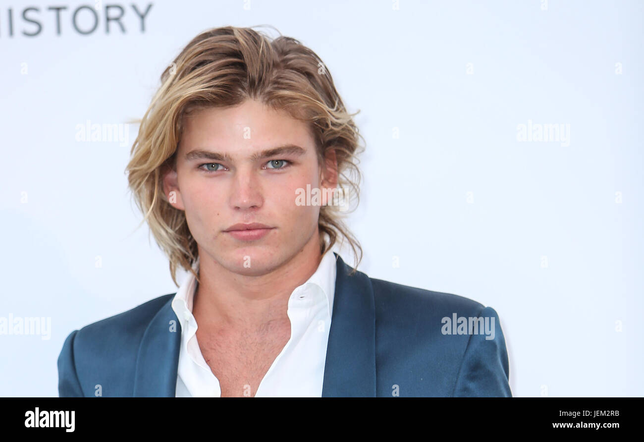 aac93a3e 70th Cannes Film Festival - amfAR's Cinema against AIDS Gala - Arrivals  Featuring: Jordan Barrett