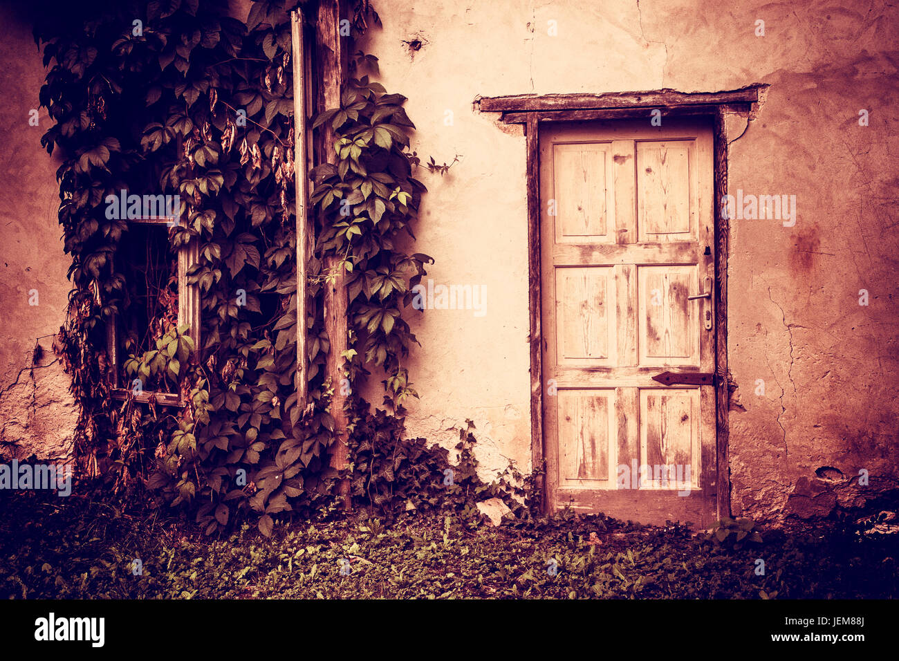 Spooky door & Spooky door Stock Photo: 146733682 - Alamy