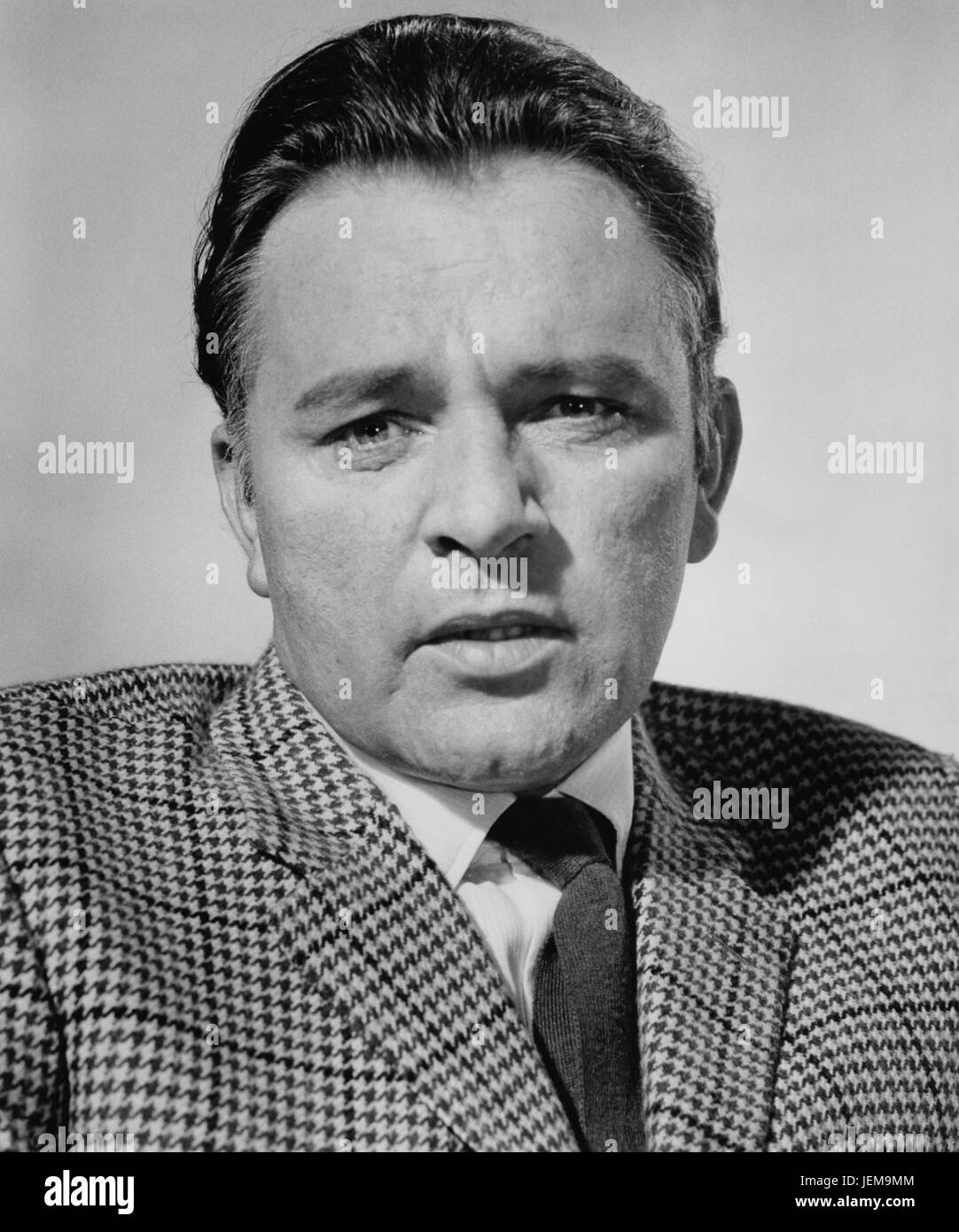 Richard Burton, Publicity Portrait for the Film, 'The Spy who Came in From the Cold', Paramount Pictures, - Stock Image